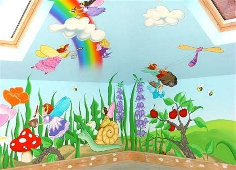children wall murals characters or animals mural painting for the