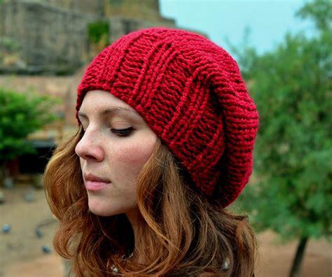 womens knit beanie slouchy beanie s slouchy hat knit hat
