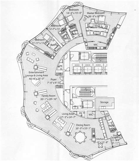 interesting floor plans in spired condo tower s creative shape leads to some floor plans