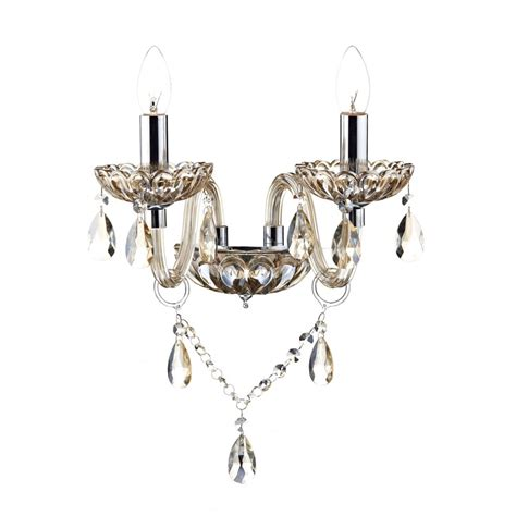chandelier wall lights uk traditional chandelier style wall light in chagne gold