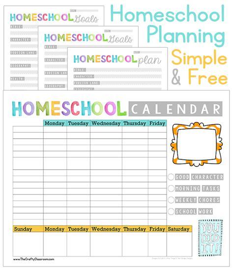 home planner free free homeschool planner