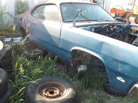 paint with a twist mission ks sell used 1973 plymouth duster base 5 2l in lebo kansas