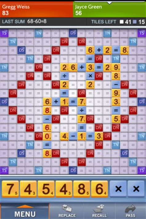 scrabble problems go sum like scrabble if it were numbers cool tech