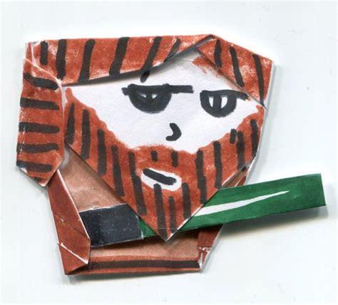 origami qui gon jinn origami qui gon jinn instrux origami yoda