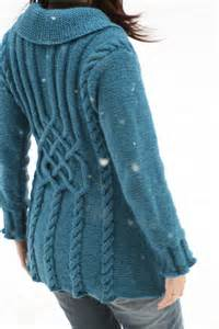 knitting tops designs ravelry project gallery for 134 1 quot bluebird quot jacket with