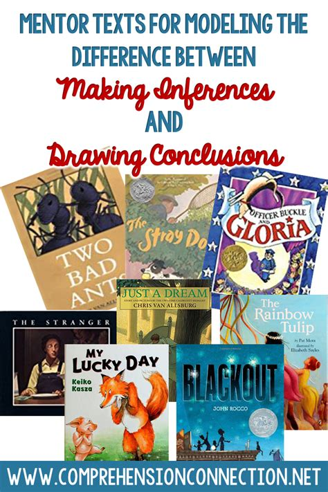picture books for drawing conclusions exploring the difference between inferences and