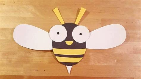 bee crafts for buzzy the bee craft template crafts crafty pammy