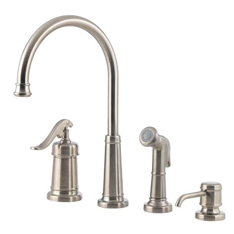 price pfister ashfield kitchen faucet pfister ashfield single handle standard kitchen faucet