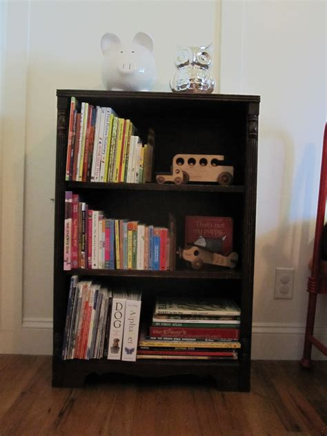 book shelf picture how to refinish a bookshelf our humble abode