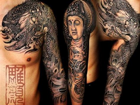 show your spirit belief through holy buddhist tattoos