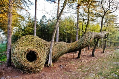 Dutch Willowman Creates Whimsical Sculptures In Enchanted