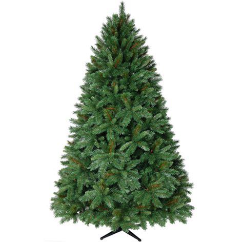 donner fir artificial tree unlit walmart