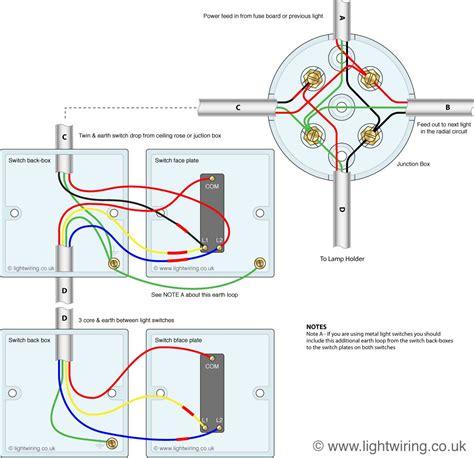 wiring lights two way switch light wiring