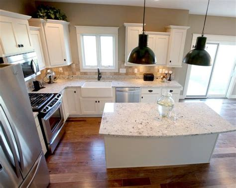 l shaped kitchen layout with island l shaped kitchen layout with an arched overhang on the