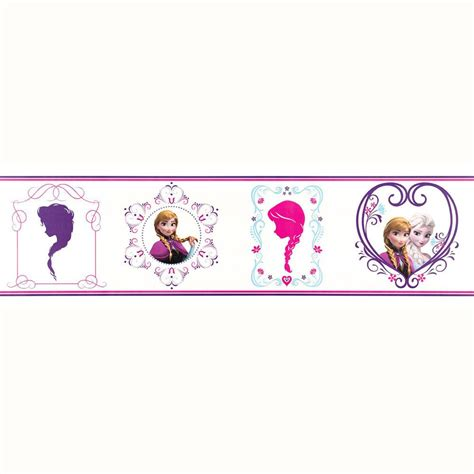 Wall Border Stickers disney frozen wallpaper borders and wall stickers wall