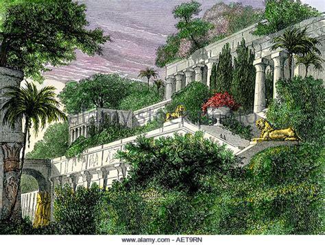 Der Garten Ischtar by Babylon Stockfotos Babylon Bilder Alamy