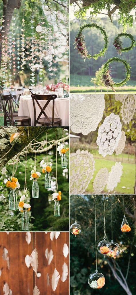 diy hanging decorations beautiful and stylish wedding hanging decorations