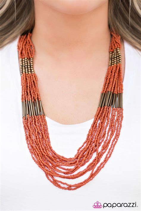 let it bead paparazzi accessories let it bead orange