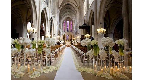 decoracion de iglesias para bodas decoraci 243 n de la iglesia para la boda youtube