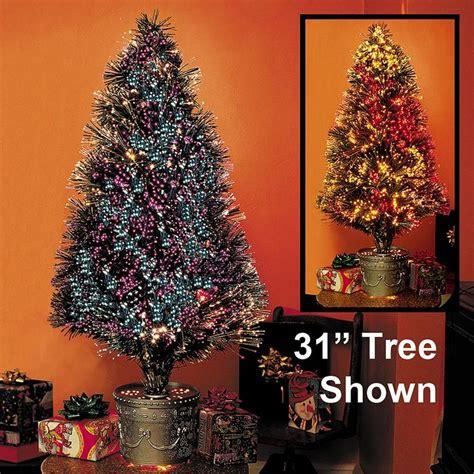 small fibre optic trees small fiber optic tree 31 bits and pieces