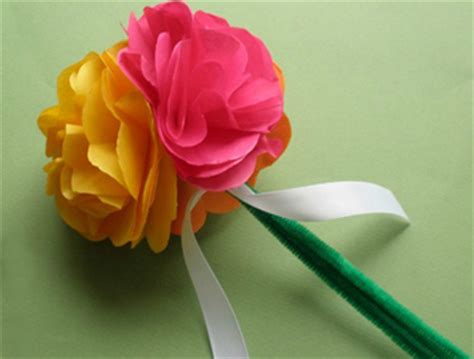craft work paper flowers make flowers with tissue paper make flowers with tissue