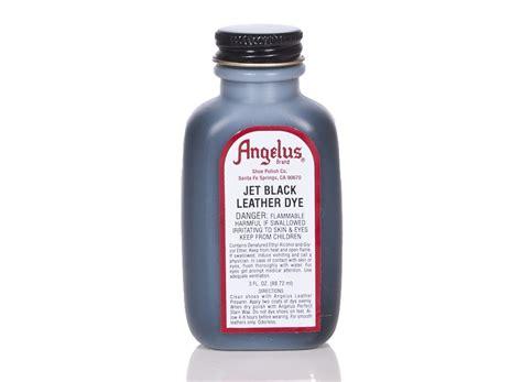 angelus paint uk black angelus dyes paint jet black 3oz leather dye leather