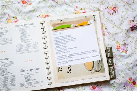 picture recipe book diy recipe book a beautiful mess