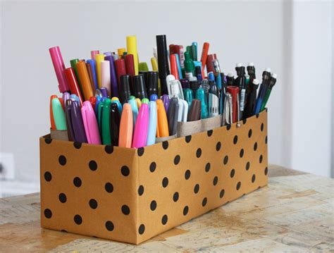 crafts with paper and markers 14 clever craft storage ideas