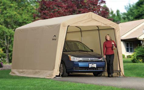 Best Car Garages portable car garage shelters the best portable carport