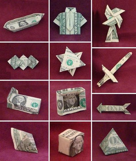 simple dollar bill origami dollar bill origami by montroll