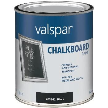 valspar chalkboard paint one quart buy the valspar mccloskey 410 0068008 005 chalkboard paint