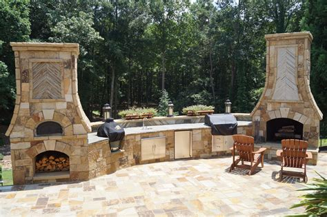 outdoor fireplace time lapse pizza oven outdoor fireplace kitchen atlanta