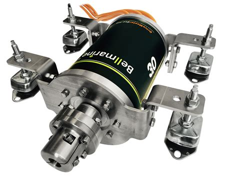 Compact Electric Motor by Bellmarine Drivemaster Eco Line Electric Inboard Eco