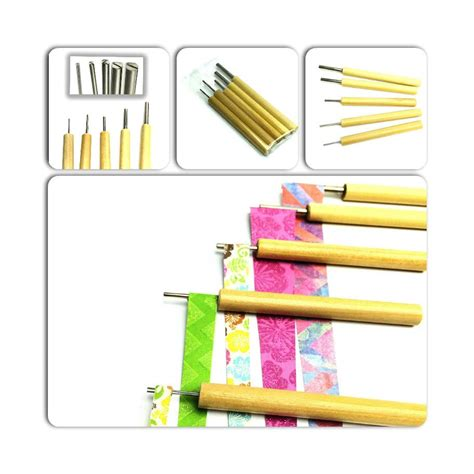 paper bead rollers paper bead roller set of 5 to roll paper handmade