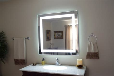 lights bathroom mirror admirable wall mirror with lights ideas decofurnish