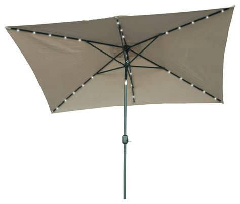 patio solar umbrella solar powered led patio umbrella contemporary outdoor umbrellas by trademark innovations