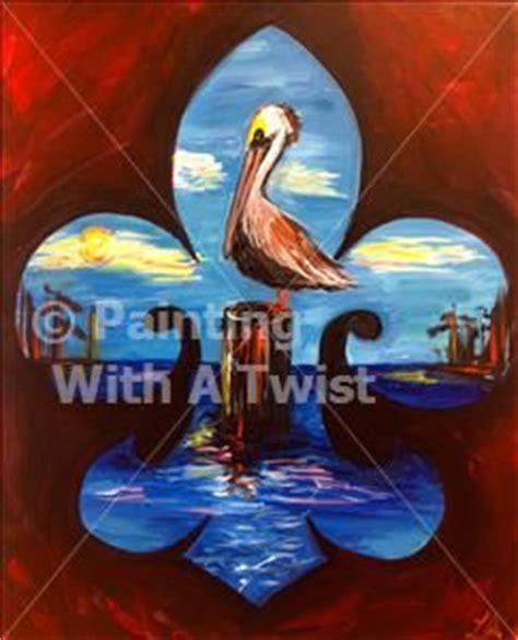 paint with a twist greenville tx fleur de lis twists and paintings on