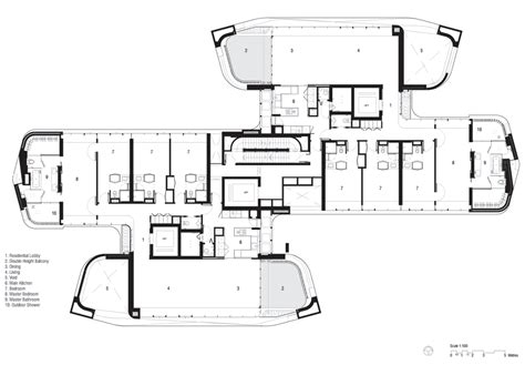 ardmore park floor plan ardmore residence skyscraper in singapore by unstudio