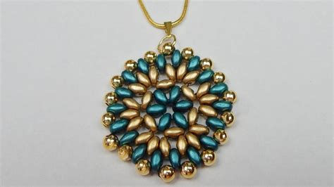 bead pendant patterns how to make a beaded pearl pendant with beading