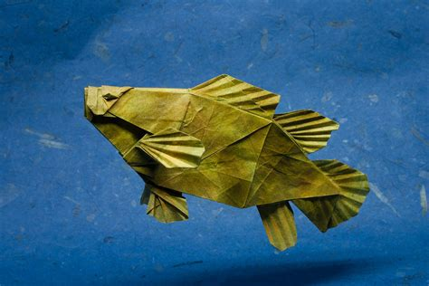 origami puffer fish 25 excellent origami fish just for the halibut