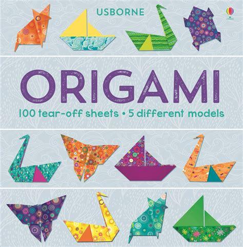 origami books origami 100 tear sheets at usborne books at home