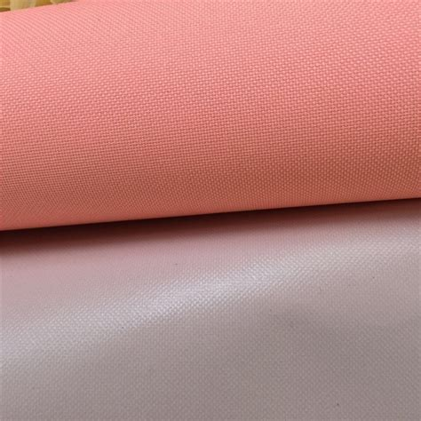Curtain Backing by Polyester 600d Oxford Fabric Waterproof Pvc Coating Flame