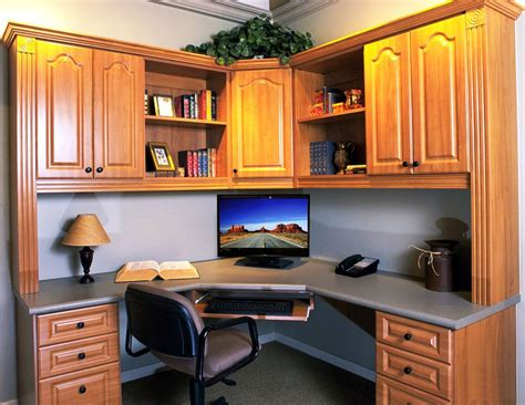 corner office desk with hutch corner office desk with hutch and amazing lighting
