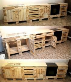 furniture of kitchen best 25 pallet kitchen cabinets ideas on wood