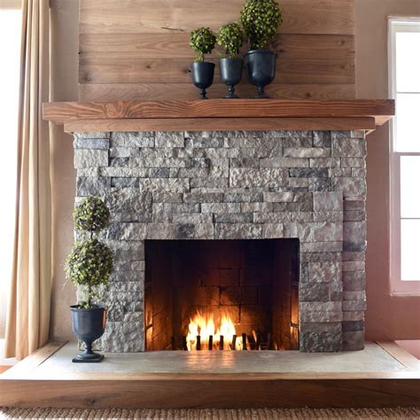 easy fireplace makeover airstone fireplace makeover make lovely