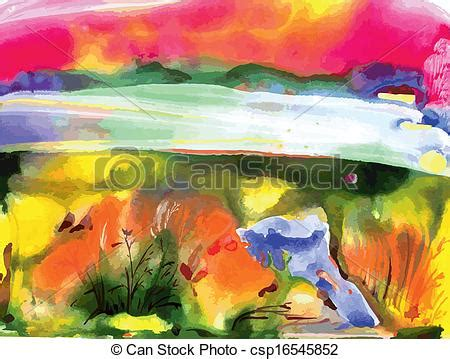 acrylic paint clipart clipart vector of abstract draw acrylic painting