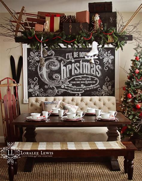 chalk paint lewis my kitchen for the holidays with a chalkboard how to