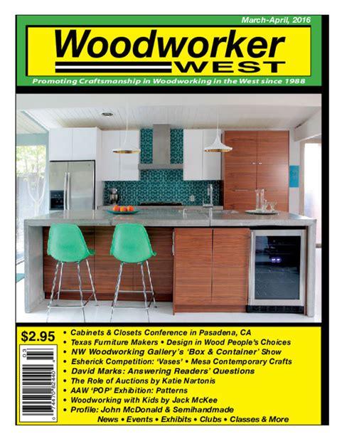 woodworker west журнал woodworker west 16 номеров 2015 2017 pdf eng