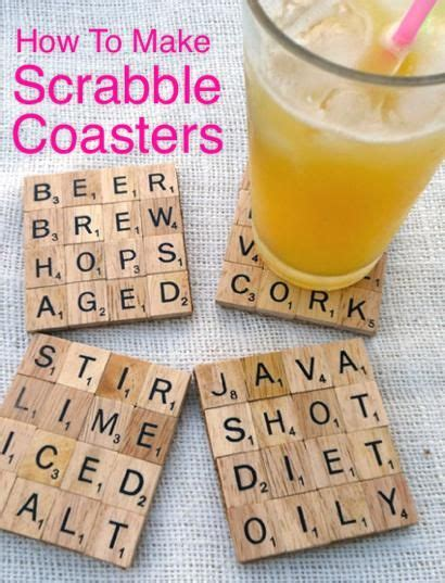 make scrabble how to make scrabble coasters http homestead and