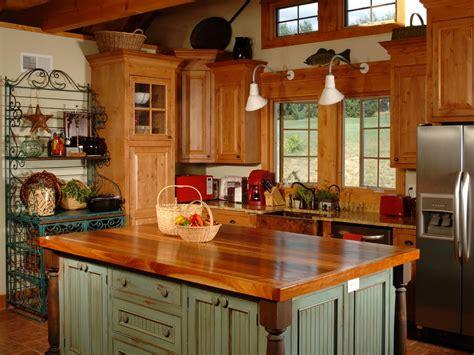 country kitchen islands hgtv